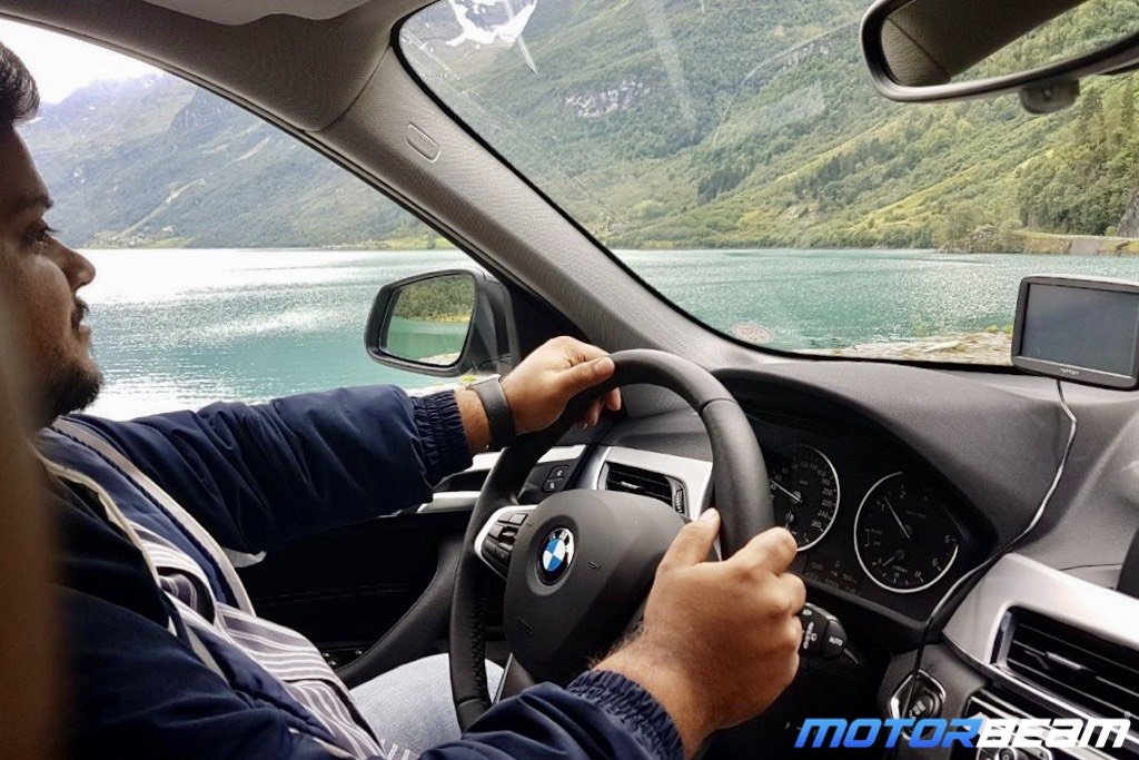 BMW Norway Driving