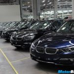 BMW Plant Stockyard