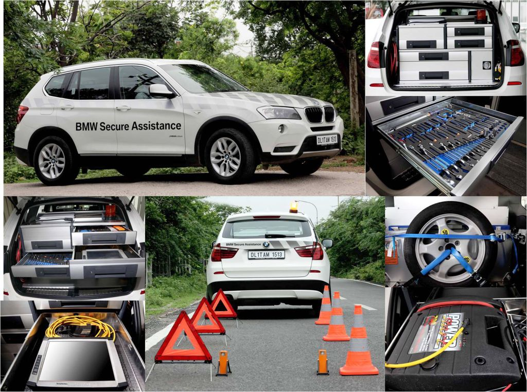 BMW Secure Assistance India