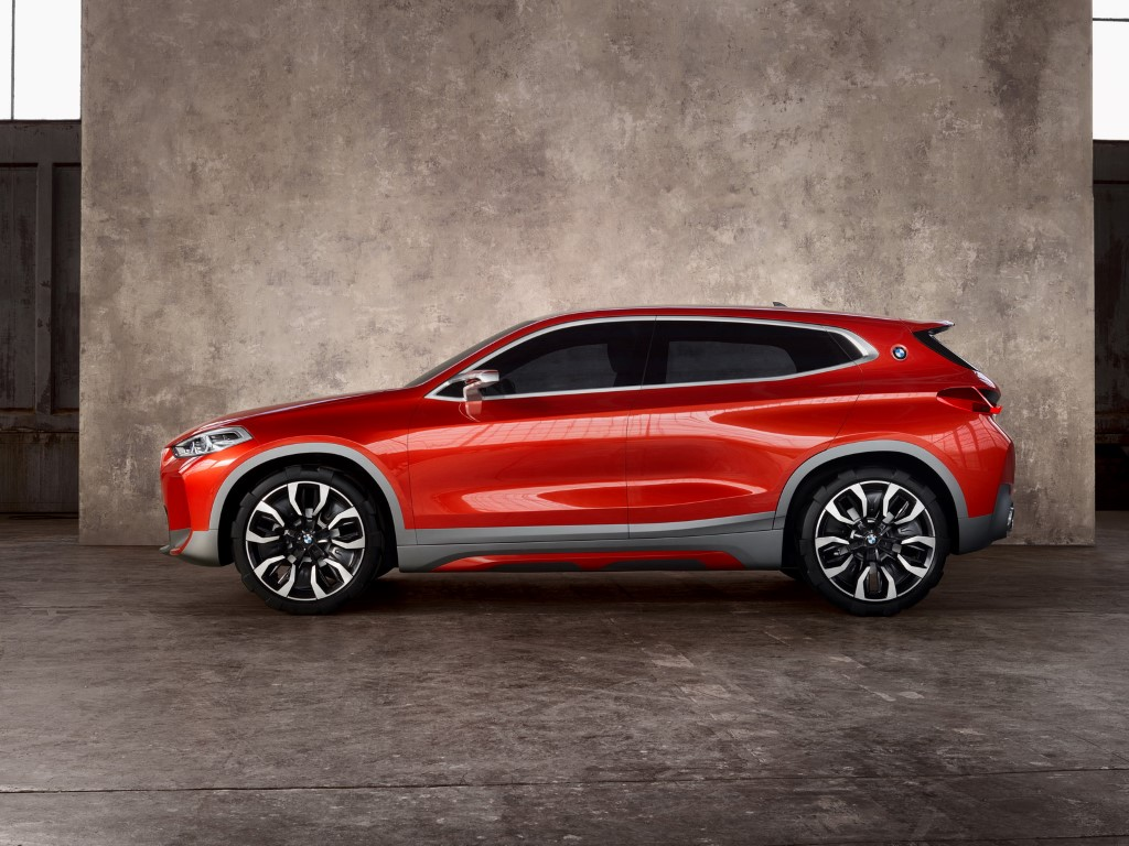 BMW X2 Concept Side