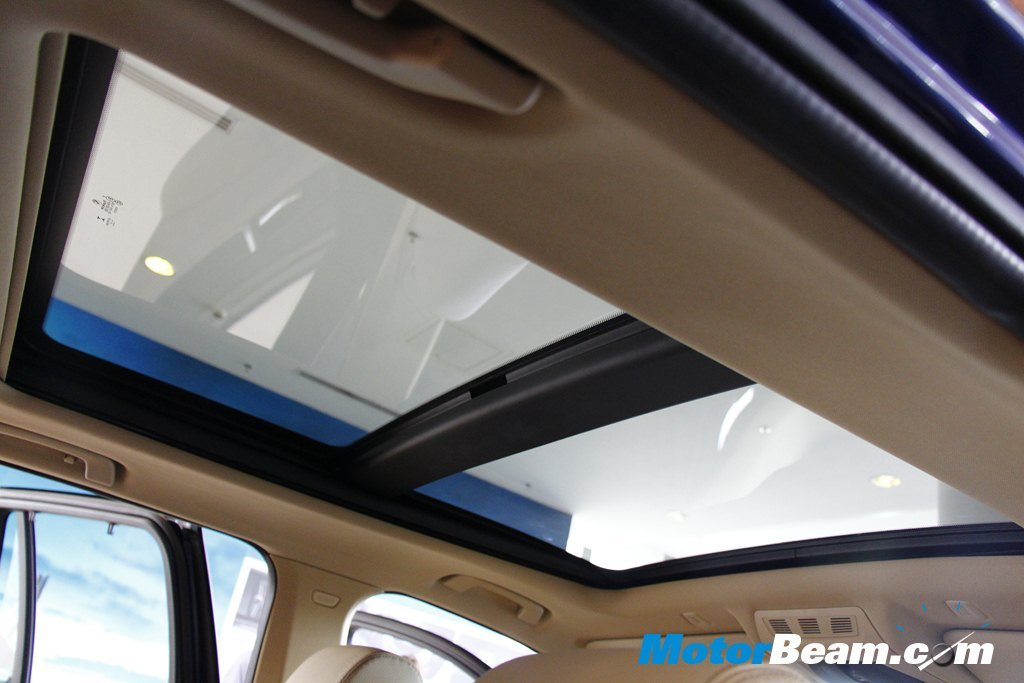 BMW X3 Facelift Sunroof