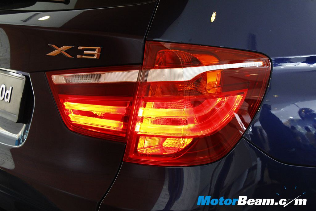 BMW X3 Facelift Tail Lights