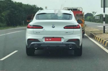 BMW X4 Spotted Rear