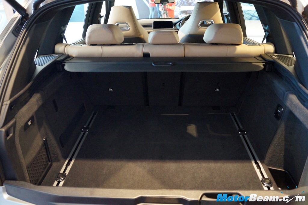 BMW X5 M Boot Space