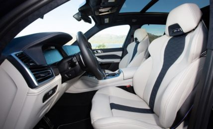 BMW X5 M Competition Front Seats