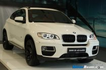 BMW X6 Facelift Launch