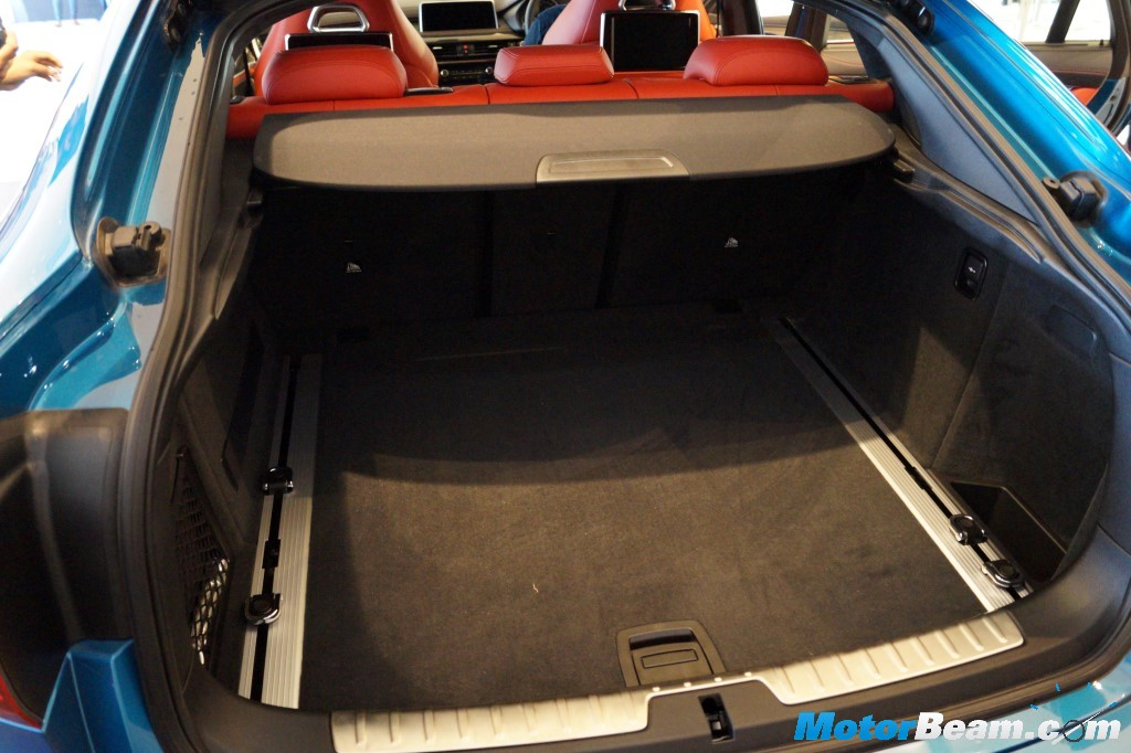 BMW X6 M Boot Space