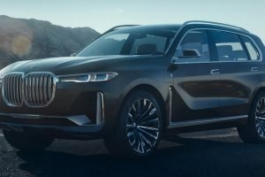 BMW X7 Concept Unveiled