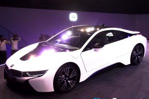 BMW i8 Launch Front