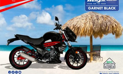 BS6 Mahindra Mojo 300 ABS Black