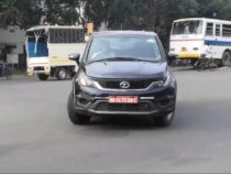 BS6 Tata Hexa Spotted