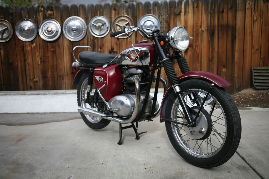 BSA Motorcycle Front