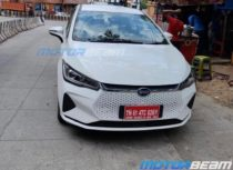 BYD e6 Spied