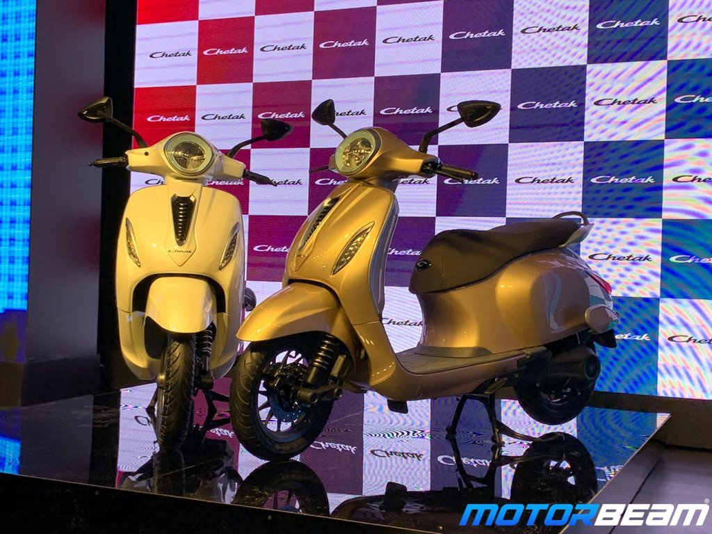 Bajaj Chetak E-Scooter Revealed