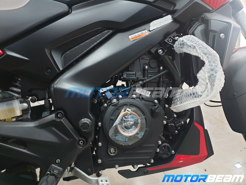 Bajaj Dominar 250 Engine
