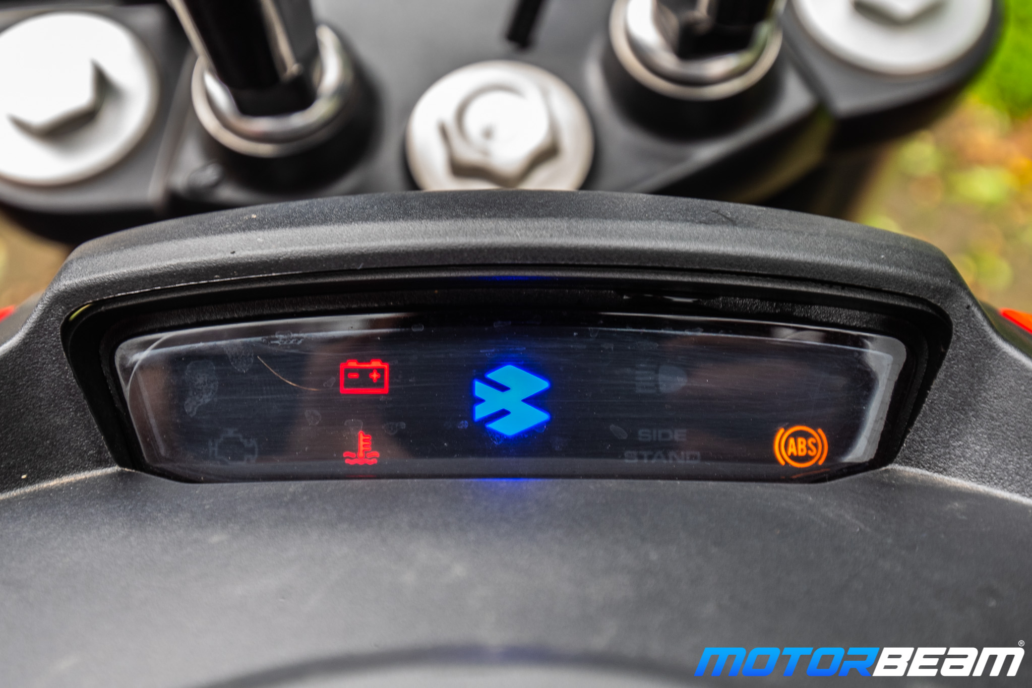 Bajaj Dominar 250 Review Console