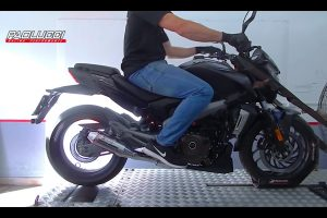 Bajaj Dominar 400 Aftermarket Exhaust