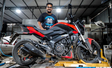 Bajaj Dominar Dyno Test