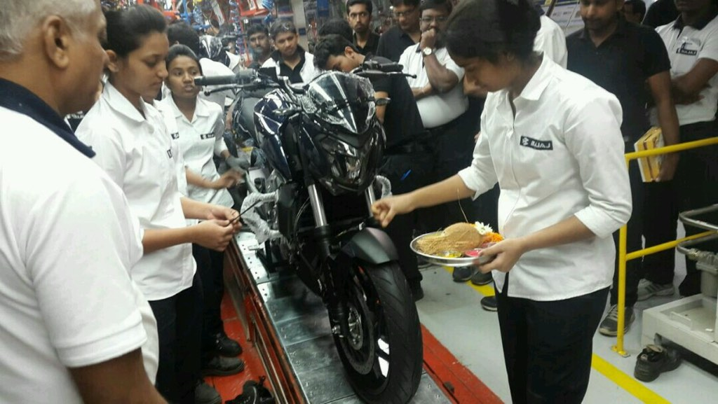Bajaj Dominar Production