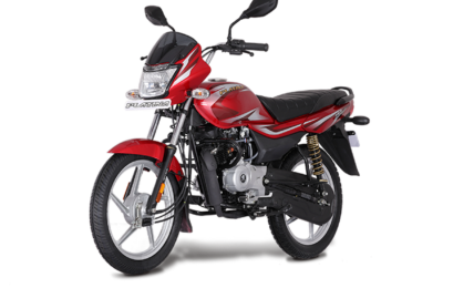 Bajaj Platina 100 BS6 Red