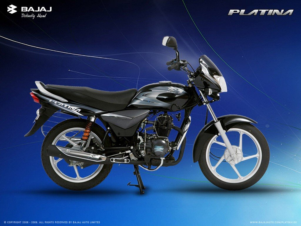 Top 5 150cc 160cc motorcycles in the country indian cars bikes - Bajaj Platina 100 Side