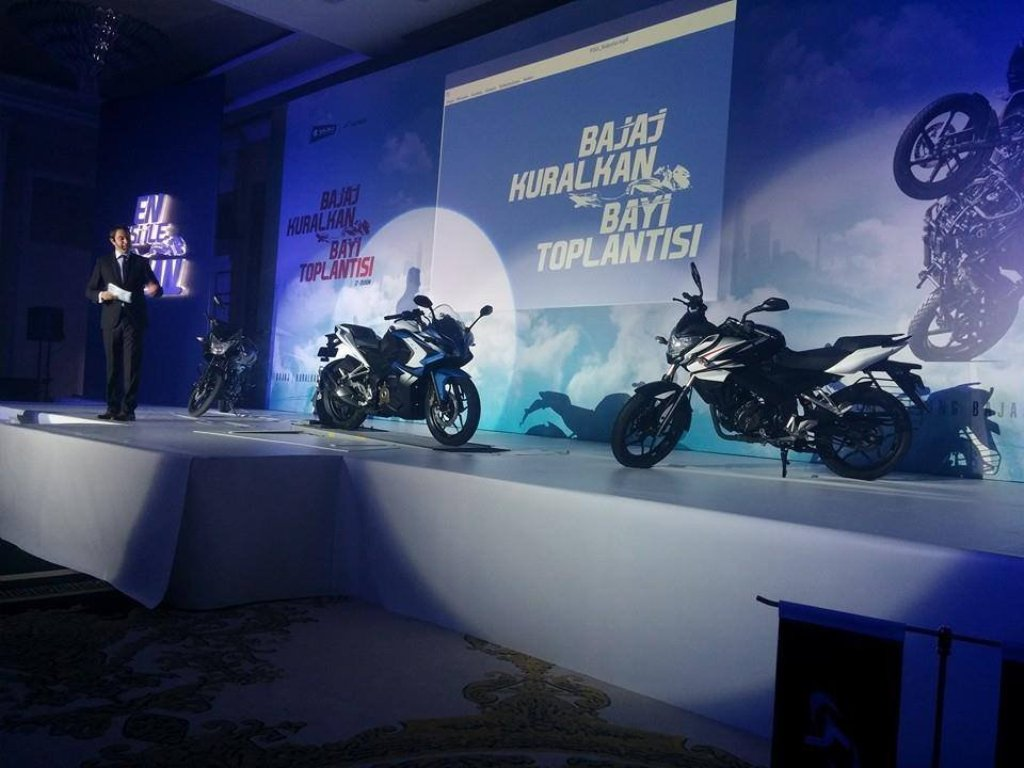 Bajaj Pulsar 150 NS Unveil Turkey