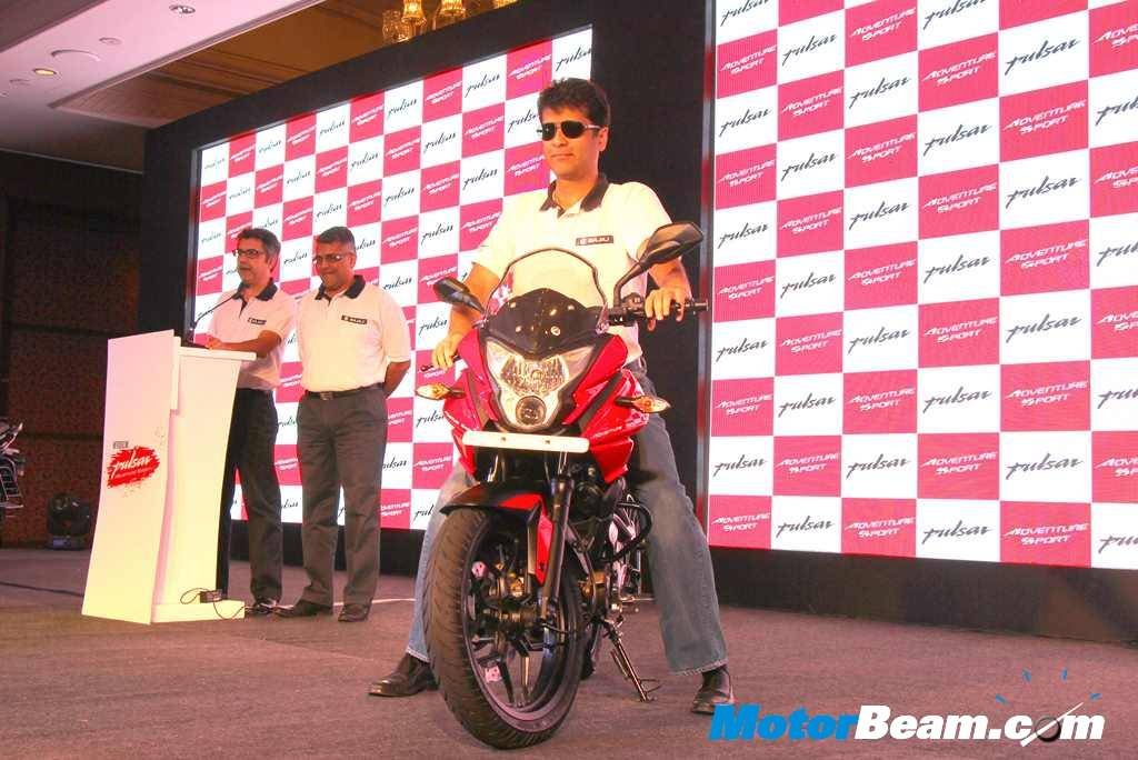 Bajaj Pulsar Adventure Sport Launch