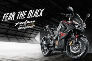Bajaj Pulsar RS 200 Colour Black