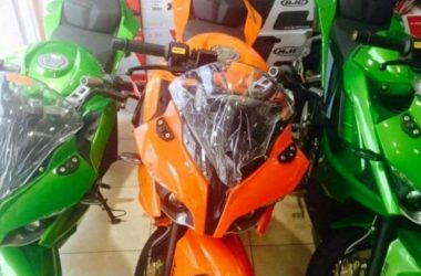 Pulsar RS 200 Custom Colours Spotted At Dealership