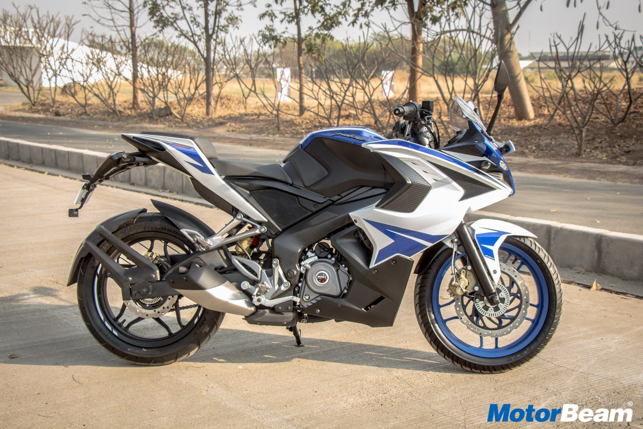 Bajaj Pulsar RS 200 Side