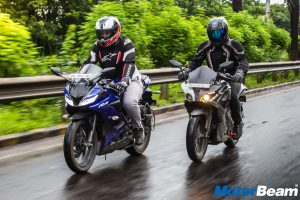 Bajaj Pulsar RS 200 vs Yamaha R15 V3 Comparison Test Review