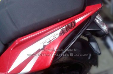 Production Ready Pulsar RS 400 Spotted For The First Time