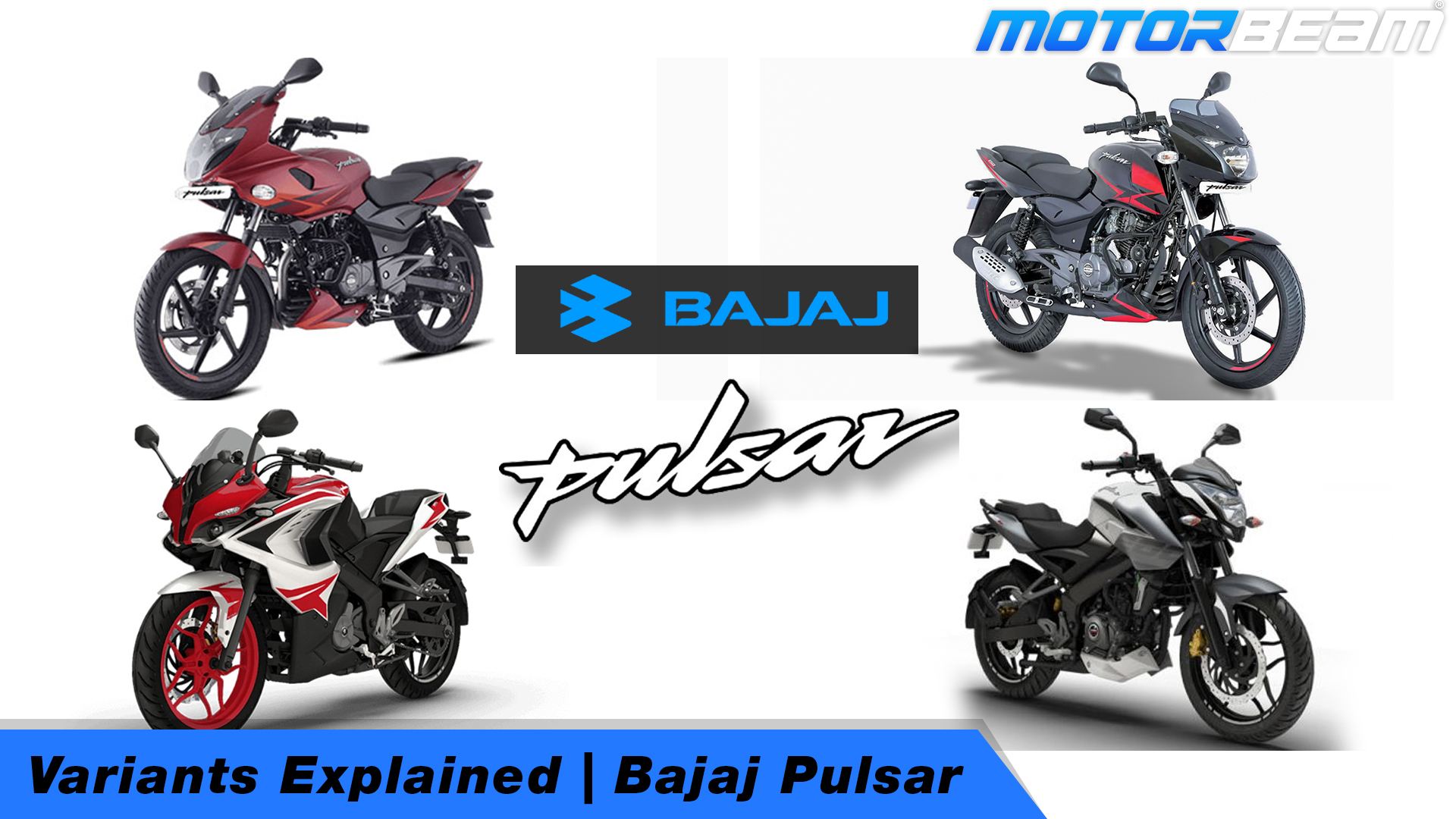 Bajaj Pulsar Variants Explained Video
