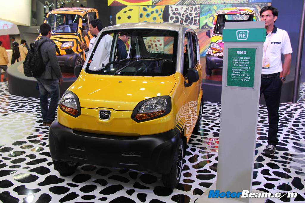 new car launches october 2014 indiaBajaj Prepares RE60 Quadricycle For Exports India Launch In