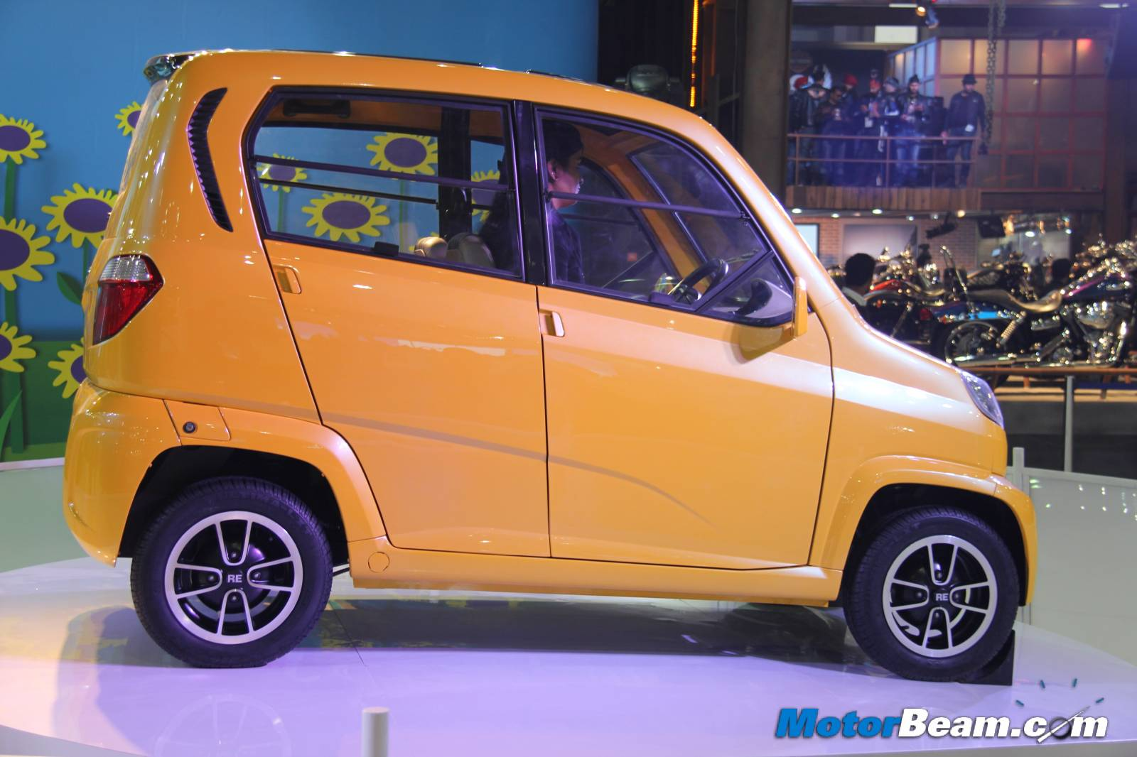 Bajaj RE60 Auto Expo
