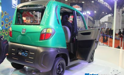 Bajaj RE60 Door Open
