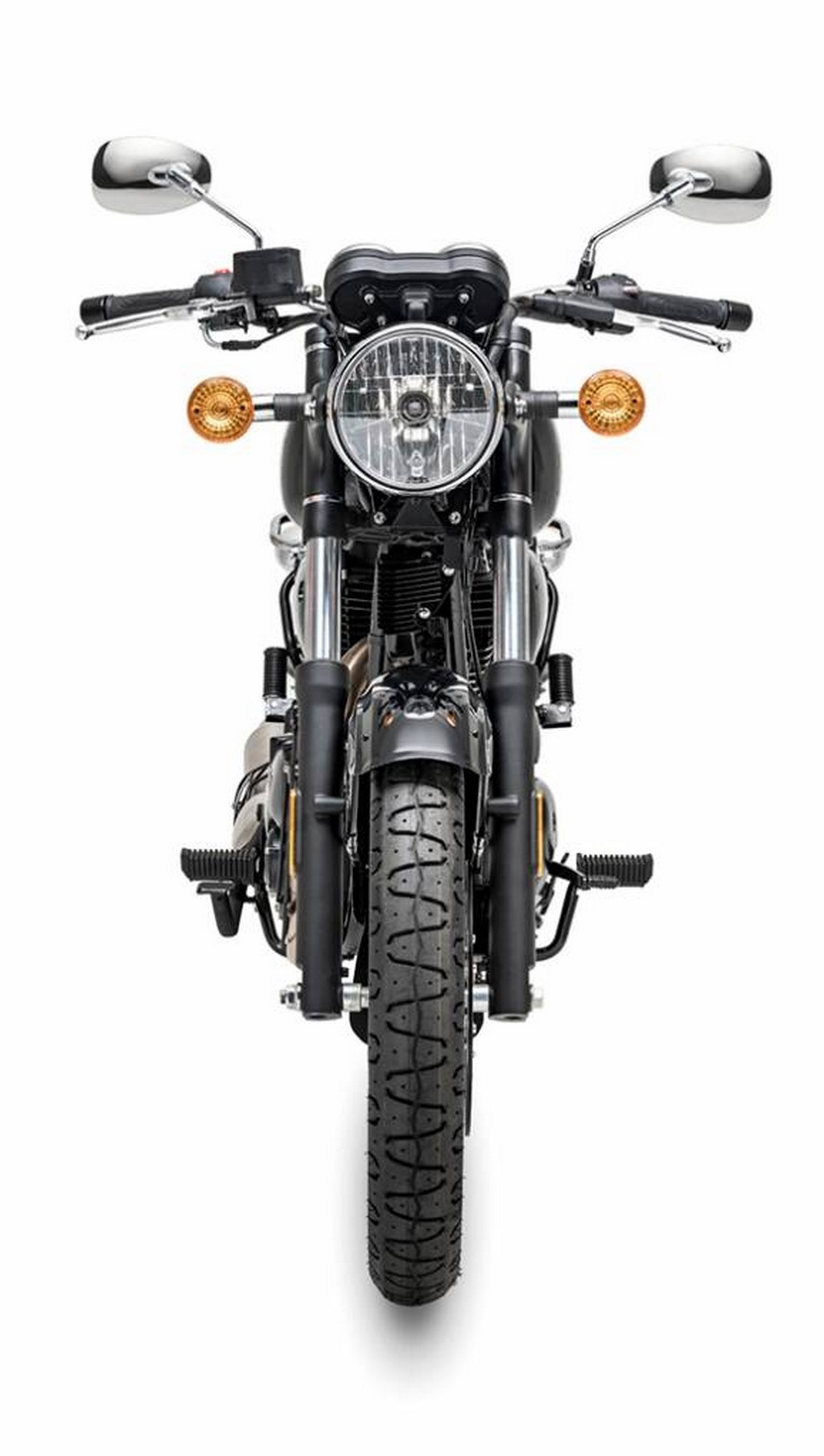 Benelli 400cc Cruiser Motorcycle Front