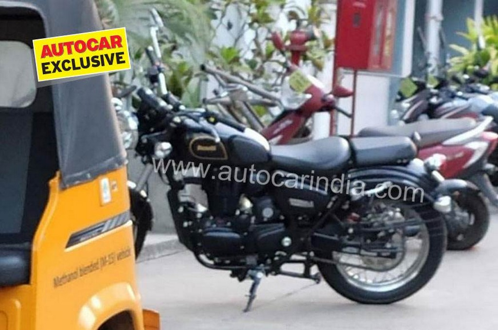 Benelli Imperiale 400 Spied