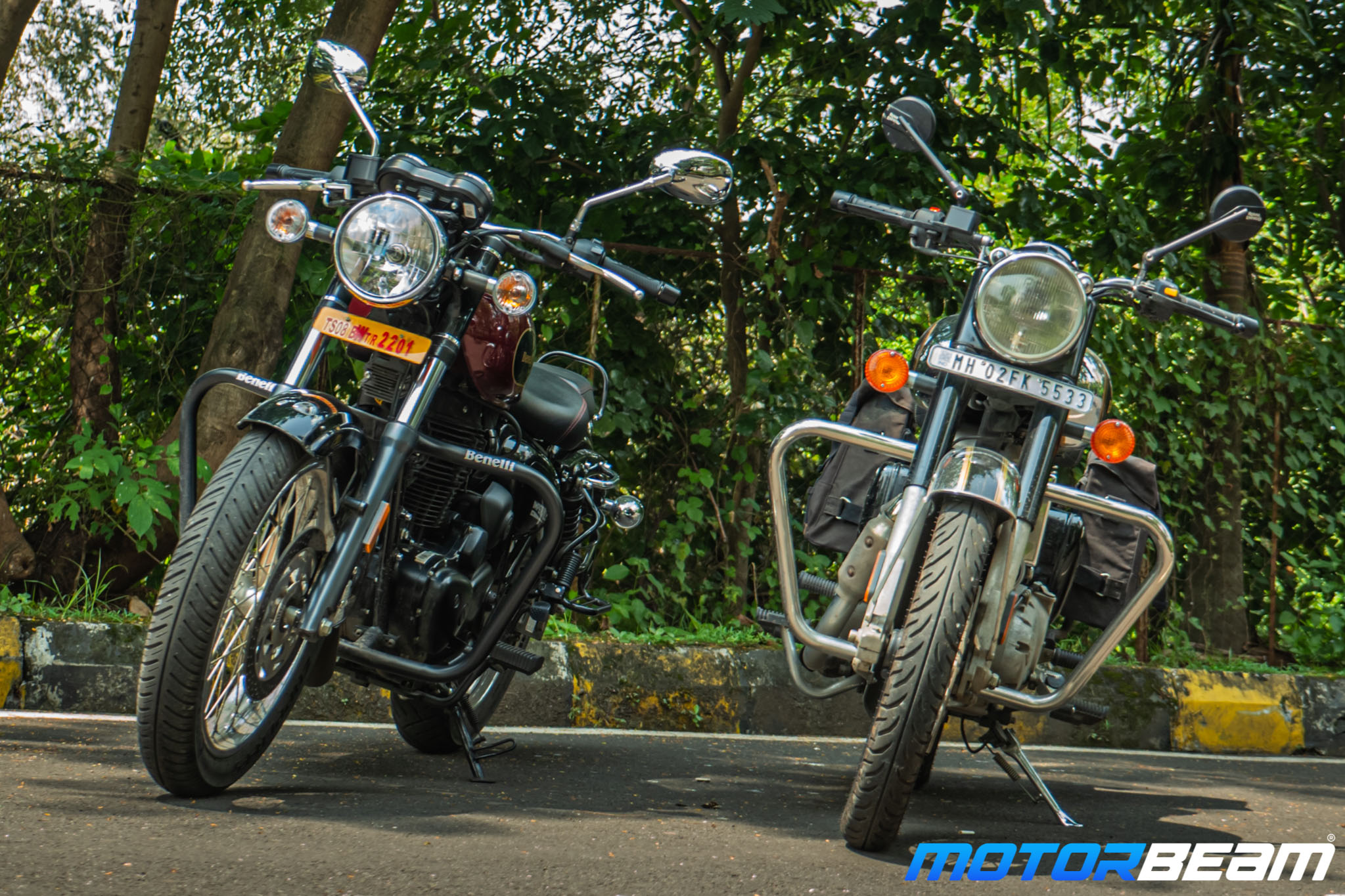 Benelli Imperiale 400 vs Royal Enfield Classic 350 Comparison Review 10