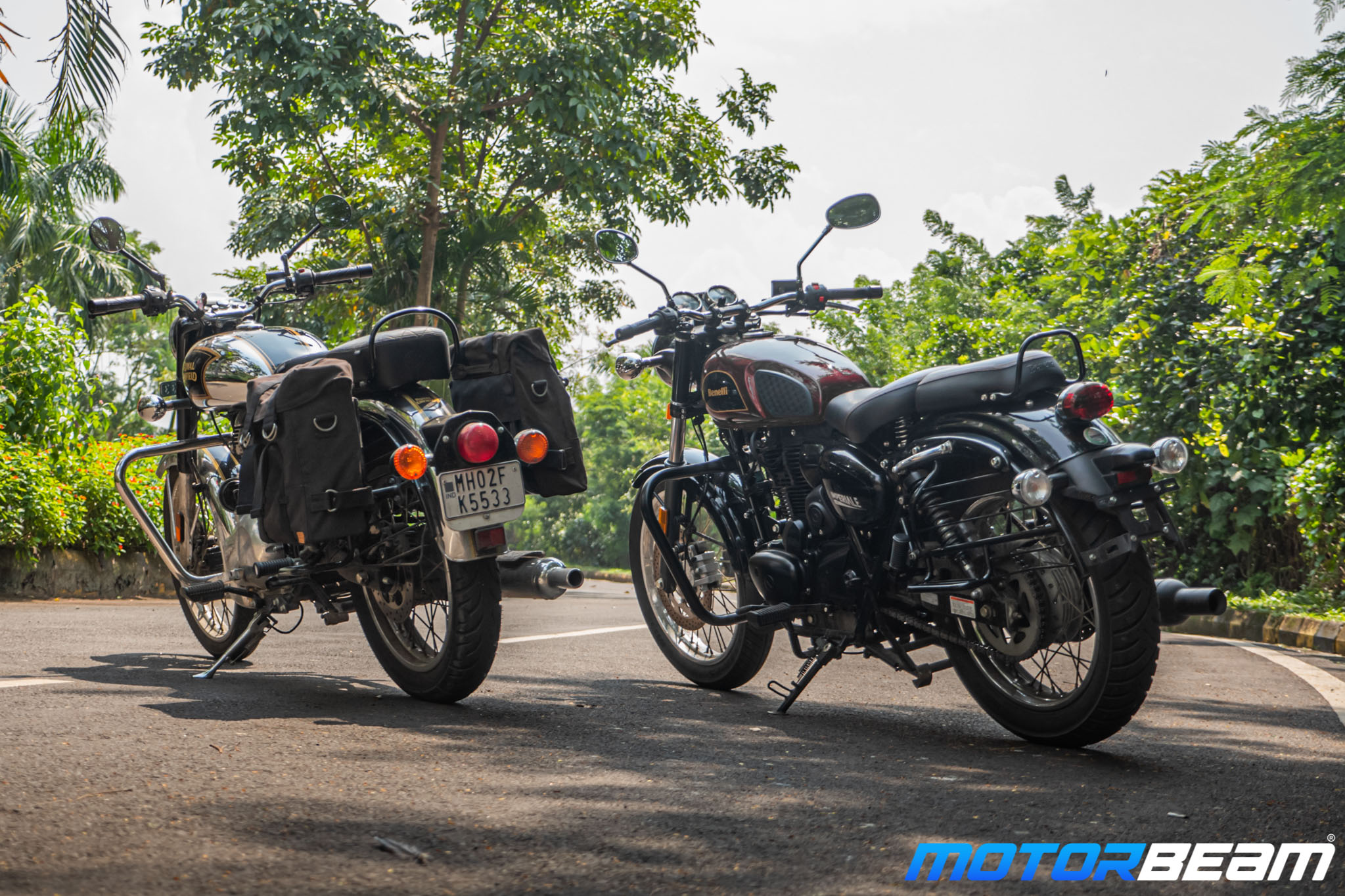 Benelli Imperiale 400 vs Royal Enfield Classic 350 Comparison Review 12