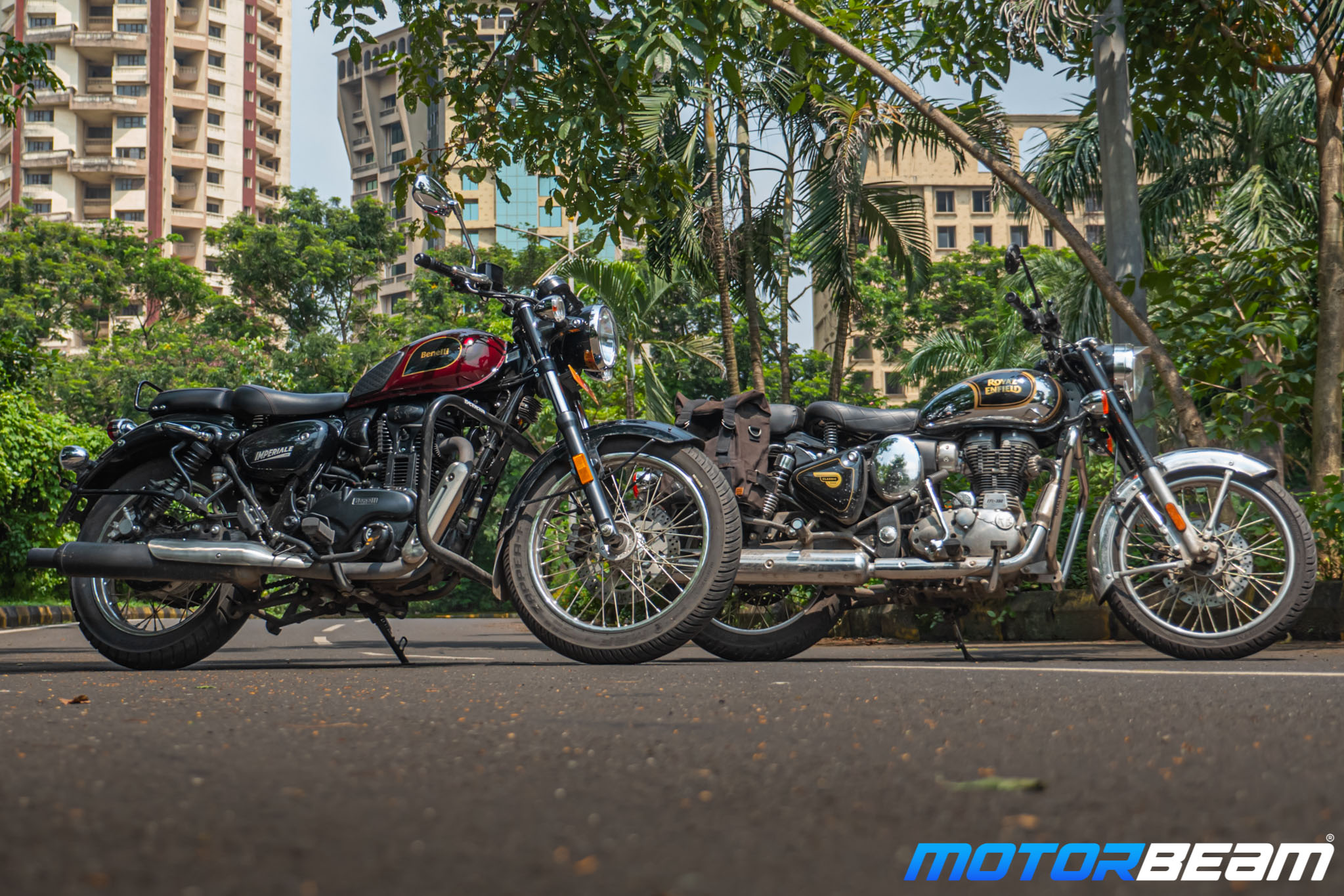 Benelli Imperiale 400 vs Royal Enfield Classic 350 Comparison Review 14