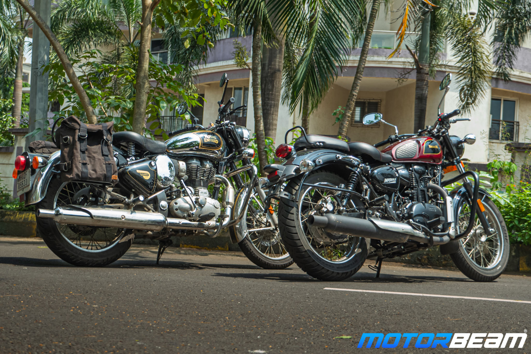 Benelli Imperiale 400 vs Royal Enfield Classic 350 Comparison Review 17