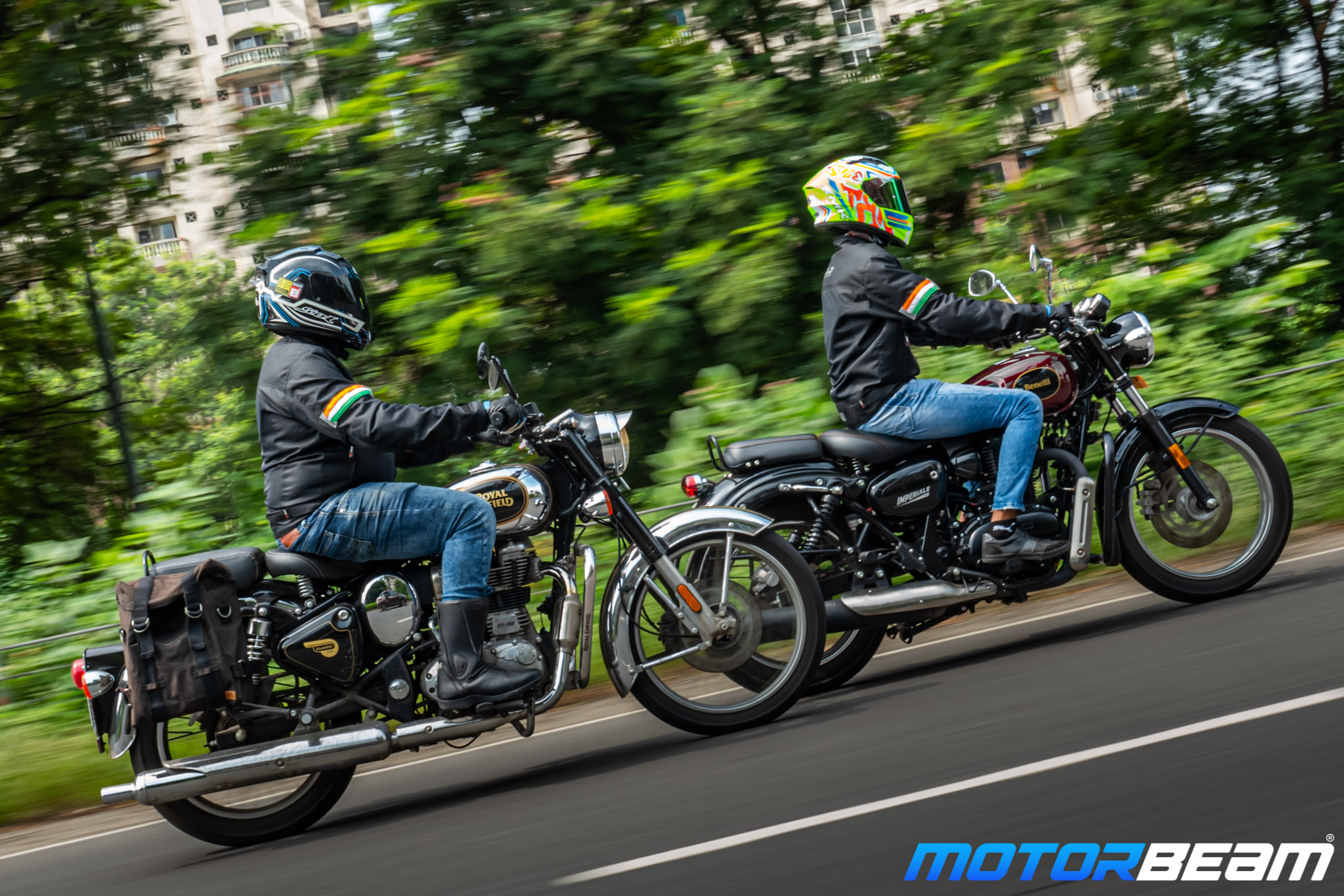 Benelli Imperiale 400 vs Royal Enfield Classic 350 Comparison Review 2