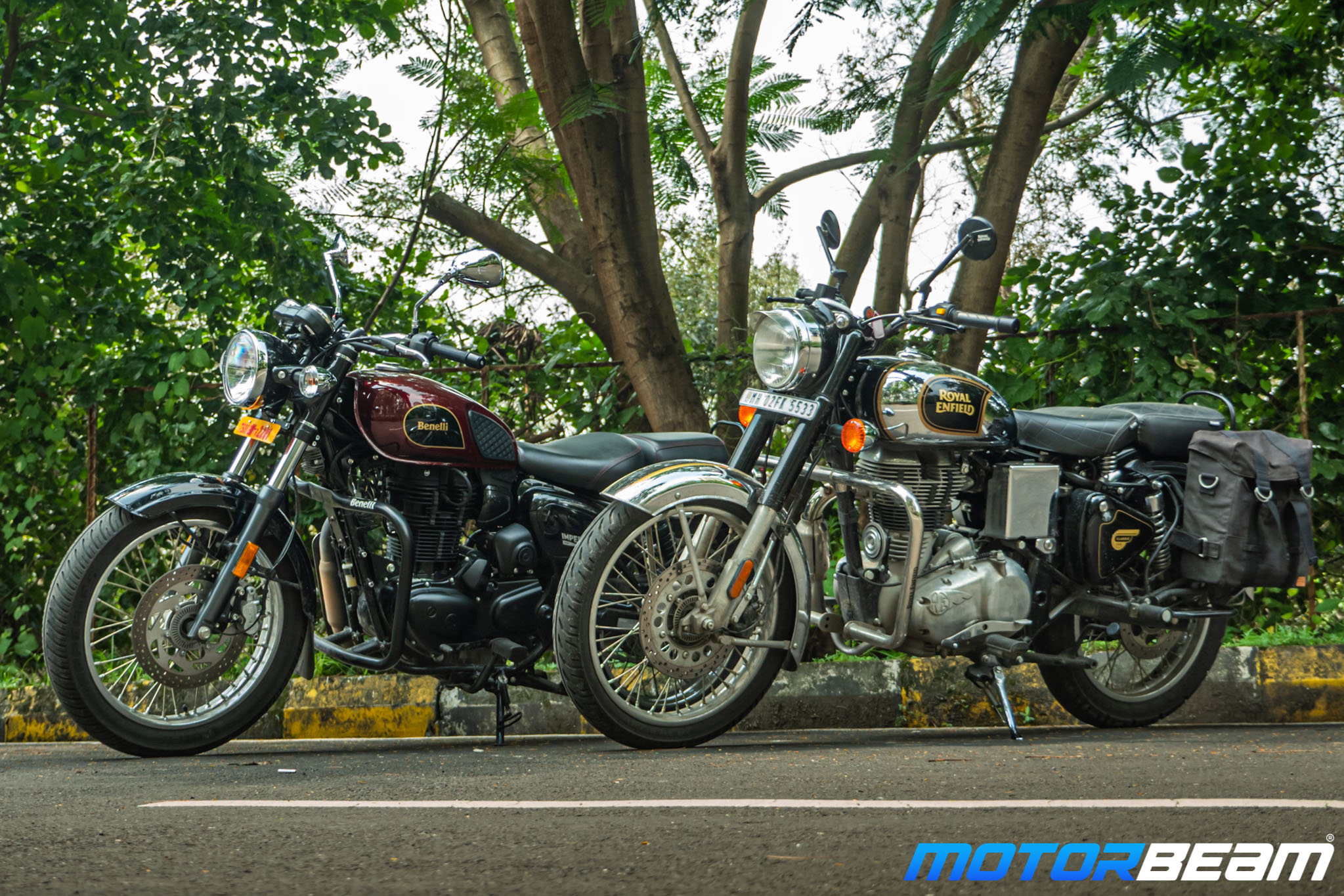 Benelli Imperiale 400 vs Royal Enfield Classic 350 Comparison Review 7