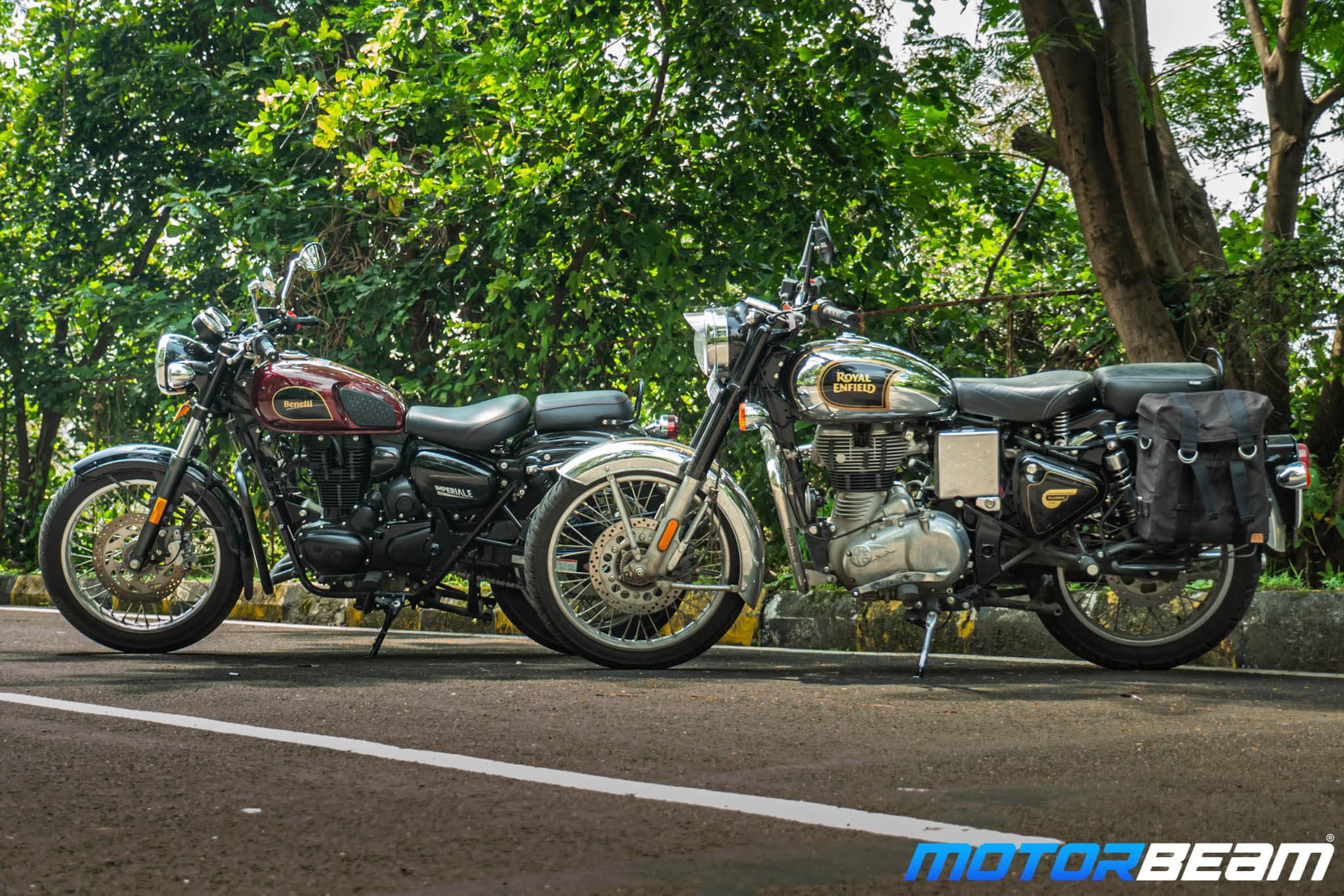 Benelli Imperiale 400 vs Royal Enfield Classic 350 Comparison Review 8