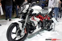 Benelli TNT 200 Front And Side
