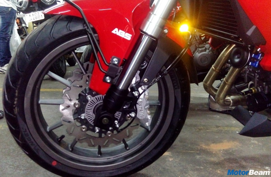 Benelli TNT 300 ABS India