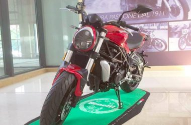 Benelli TNT 750 Middle-Weight Motorcycle Spotted
