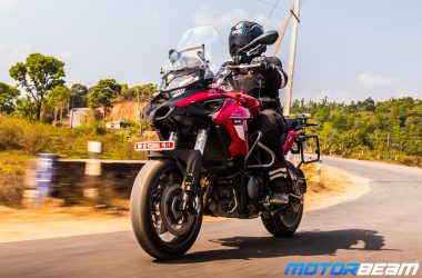 Benelli TRK 502 English Video Review