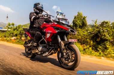 Benelli TRK 502 Hindi Video Review